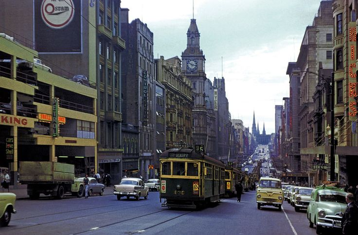Melbourne history in colour - SkyscraperCity