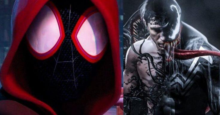 Tom Hardy's Venom Will Not Return in Animated Spider-Man Movie -- Venom will not be featured in Sony's animated Spider-Man: Into the Spider-Verse and John Krasinski will not be voicing Peter Parker. -- http://movieweb.com/spider-man-into-spider-verse-movie-no-tom-hardy-venom/