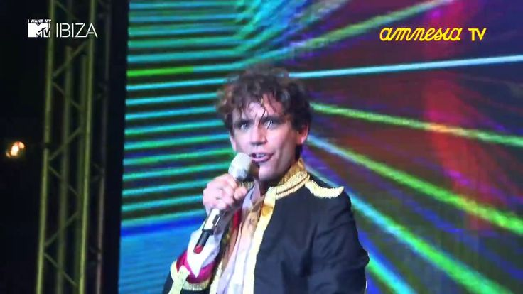 MIKA@ I Want My MTV Ibiza - 15 July 2011