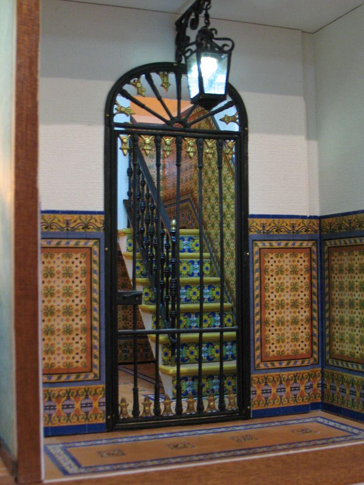 Casa popular Andaluza cancel zaguan