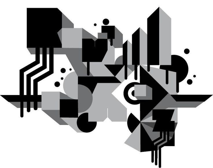"""Ilustración """"cubismo"""""""