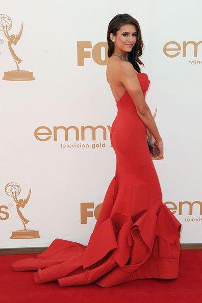Nina Dobrev Photos: 63rd Annual Primetime Emmy Awards - Arrivals