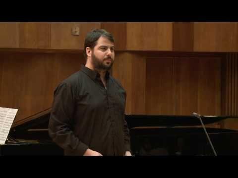 Andreas Scholl Masterclass for Jersusalem Music Centre - Jonathan H Avidan - YouTube