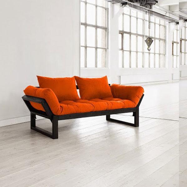Diván cama Edge naranja