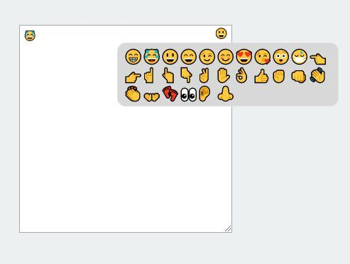 emojiFace.js is a simple yet useful jQuery plugin that adds a basic emoji picker to your text field using Unicode emoji characters and with no images. #jquery #emoji