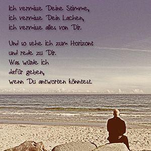 Jede Woche neue Trauersprüche bei Trauer.de
