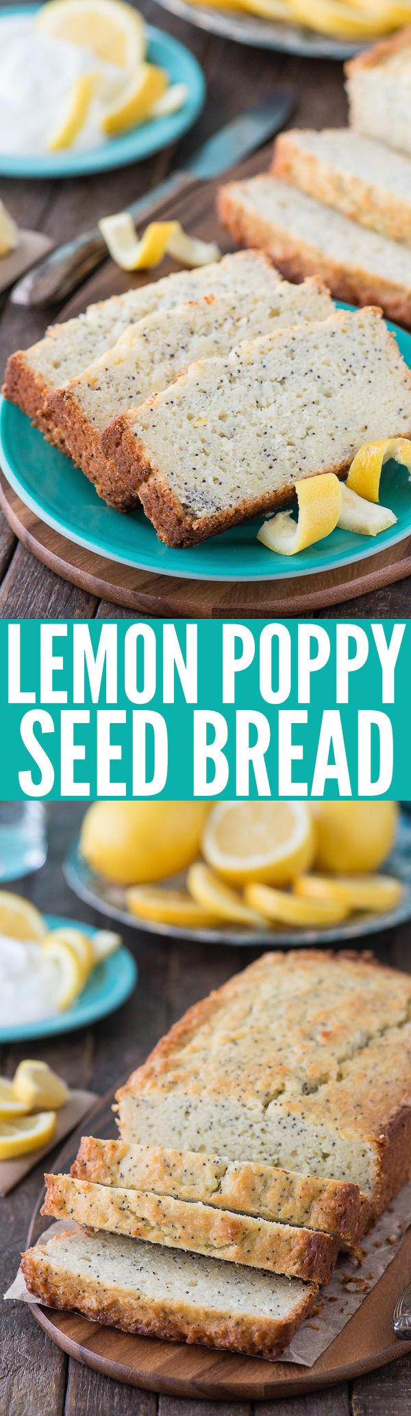 Easy lemon poppy seed bread recipe - 10 minutes to prep and less than ...