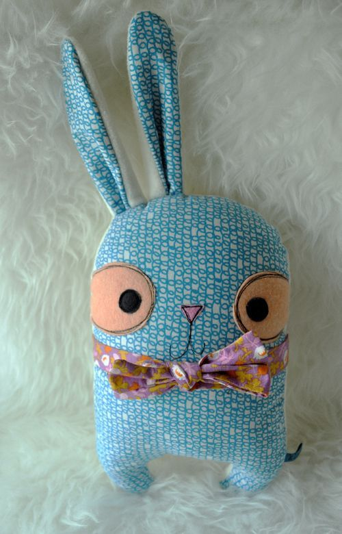 Happy Spring Easter Bun #handmadedoll #doll: