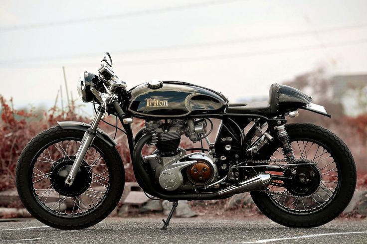 Triton Cafe Racer #motorcycles #caferacer