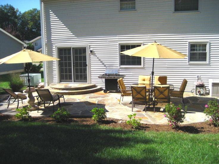 Backyard Landscaping Ideas Around Deck : Ideas about small backyard patio on backyards and paver