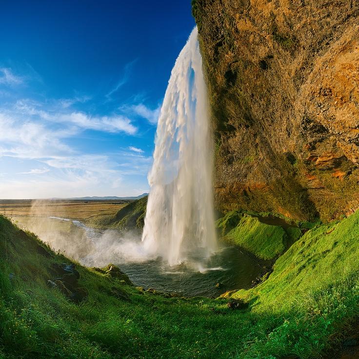 Seljalandsfoss Waterfall II by Alexander Gutkin, via 500px