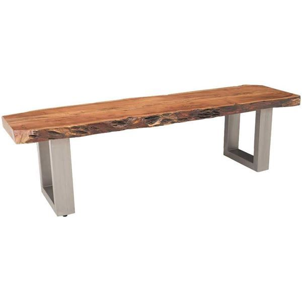 Live Edge Dining Bench By Shivam International Is Now Available At American  Furniture Warehouse. Shop