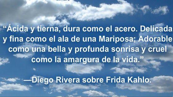 Diego Rivera sobre Frida