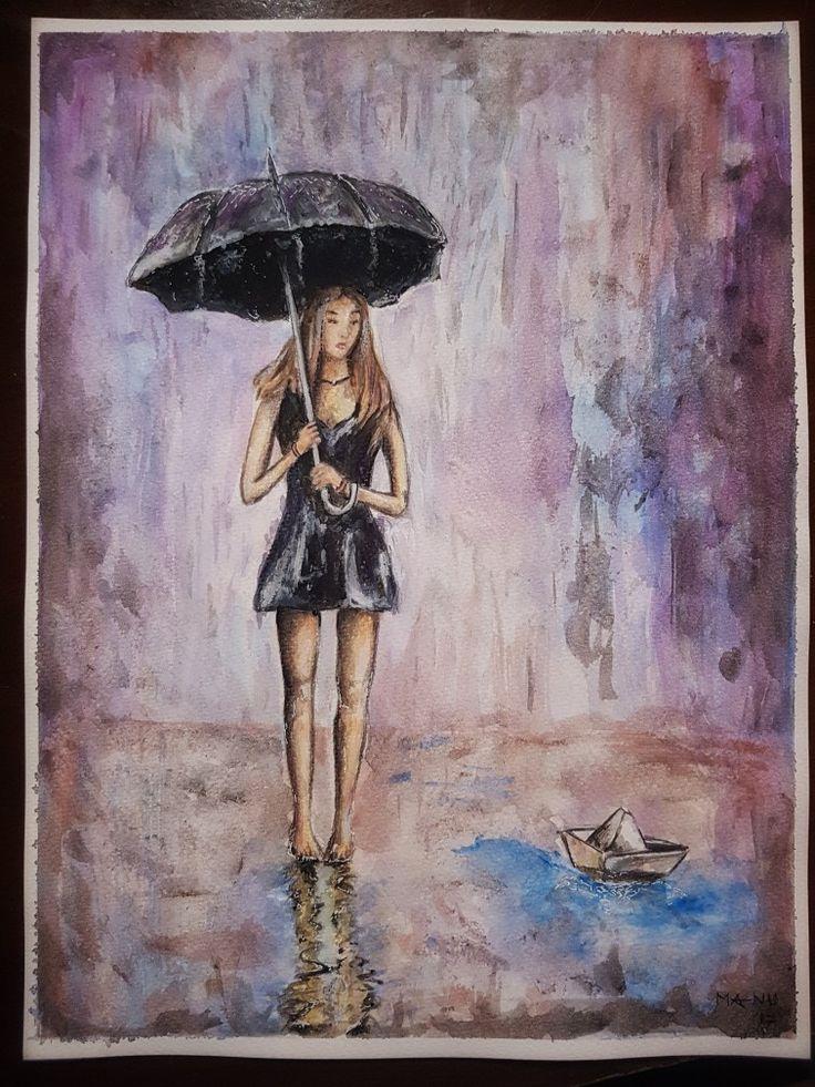 Watercolor paint  Acquerello