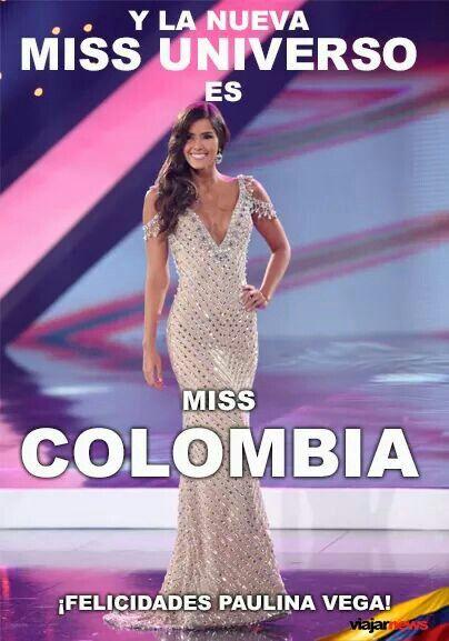 La belleza Colombiana es unica