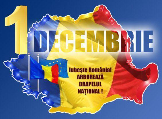 1 Decembrie este Ziua Naţională a României, adoptată prin lege după inlăturarea regimului comunist......1 grudnia   -to  Narodowy Dzień Rumunii, przyjęty przez prawo - po usunięciu reżimu komunistycznego.