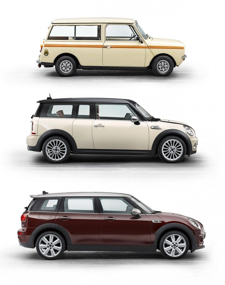 MINI Clubman - Design Evolution - Too bad they turned it into another boring 4 door bus