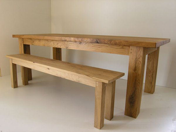 Traditional oak dining Table