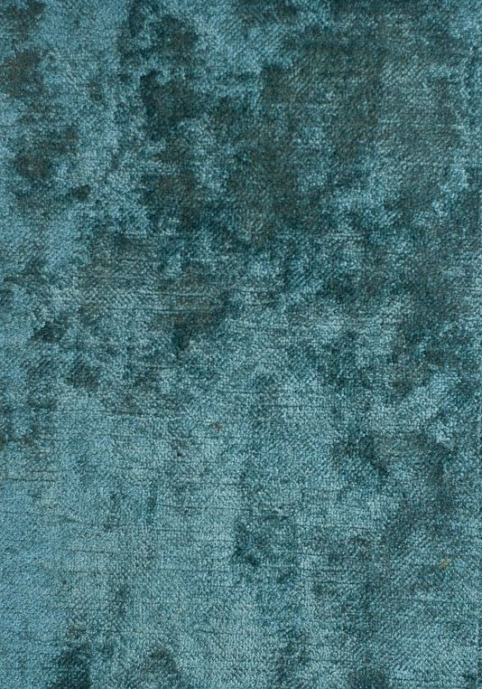 Dapple Velvet A sumptuous deep pile velvet upholstery and curtain fabric in teal.