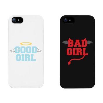 Cute BFF Phone Cases - Good Girl Bad Girl Best Friend Phone Accessories for iphone 4, iphone 5, iphone 5C, iphone 6, iphone 6 plus, Galaxy S3, Galaxy S4, Galaxy S5, HTC M8, LG G3
