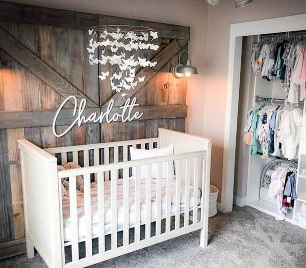 Modern Handwriting Baby Name Sign Baby Room Design Baby Room