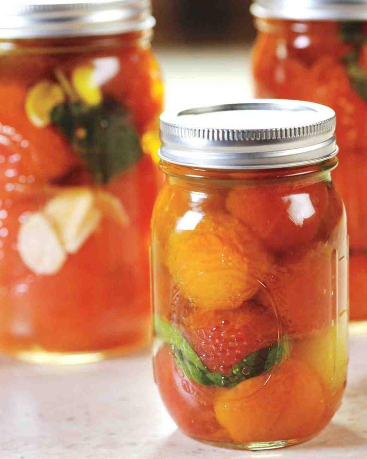 Tomato Confit | Recipe | Tomatoes and Martha stewart
