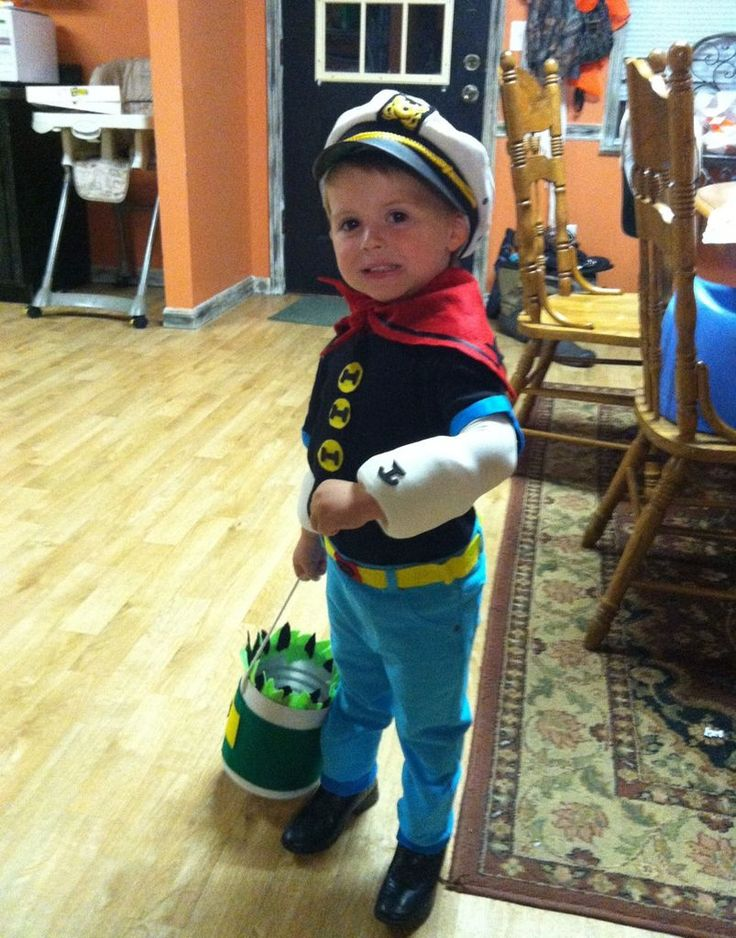 81 best halloween kids costumes images on pinterest halloween popeye the sailor man materials solutioingenieria Image collections