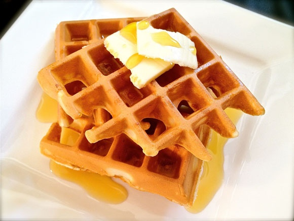 Quick and Easy Waffles Recipe - great recipe! Use this now as my go to ...