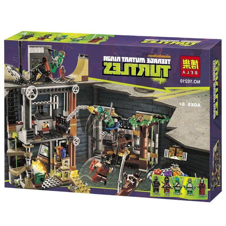 31.99$  Buy now - https://alitems.com/g/1e8d114494b01f4c715516525dc3e8/?i=5&ulp=https%3A%2F%2Fwww.aliexpress.com%2Fitem%2FBela-10210-Ninja-Turtles-Turtle-Lair-Attack-Building-Block-Sets-Minifigures-Kids-Educational-Toys-Compatible-Legoelieds%2F32484961104.html - Bela 10210 Ninja Turtles Turtle Lair Attack Building Block Sets Minifigures Kids Educational Toys