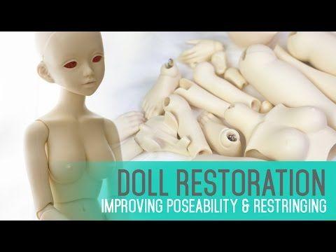 BJD Doll Restoration & Maintenance - Improving poseability & restringing