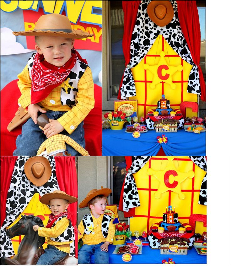 "Toy Story Inspired COMPLETE PACKAGE- Woody Party - Boys Birthday Party Printables -""Round Up""- Krown Kreations. $25.00, via Etsy."