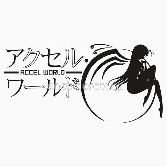 Accel World Logo Anime and Manga