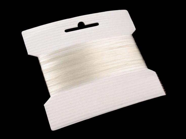 Silikónová guma je elastická (ťažná). Po roztiahnutí sa vráti späť do pôvodného stavu. Použitie: Guma je vhodná k výrobe pútok na svetre, tričká či blúzky. Môžete s ňou tiež nariasiť látku.
