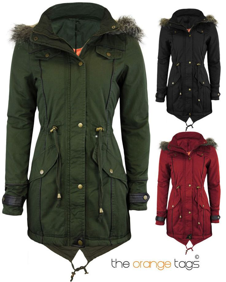 1000  images about Winter Jackets eBay on Pinterest | Coats, Woman ...