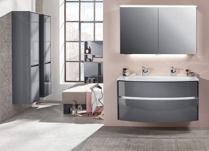 Midischrank badezimmer ~ Spiegelschrank beatrice badezimmer schrank barock silber
