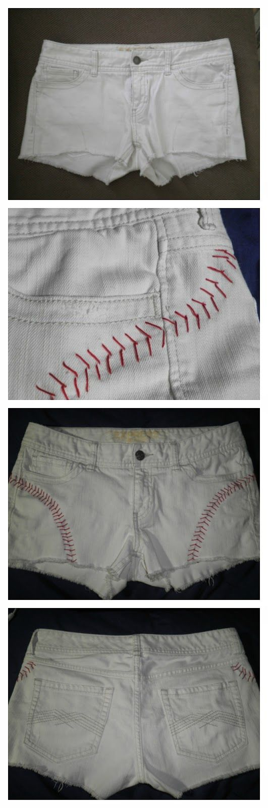 DIY Baseball Shorts