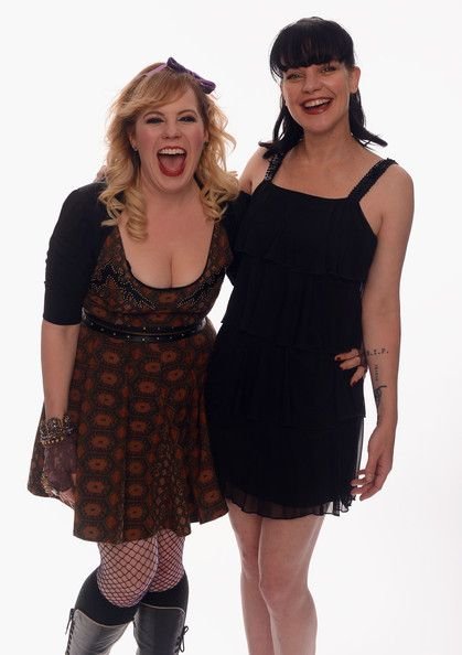 Kirsten Vangsness & Pauley Perrette two of the hottest chicks on TV