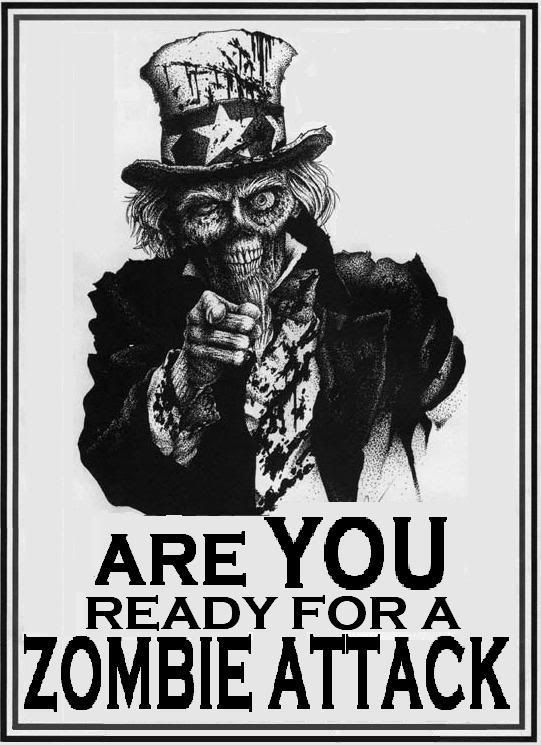Are YOU ready?: Uncle Sam, Zombies Apocalypse, Stuff, Zombies Attack, Walks Dead, Zombies Survival, Unclesam, Things, Ready