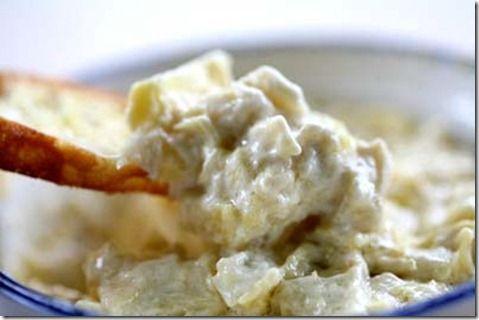 easy-artichoke-dip-recipe #yum #amazing remodelaholic.com #recipe