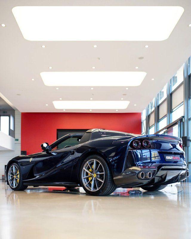 812 Gts Blu America Ferrari Ferrari Mondial Car And Motorcycle Design