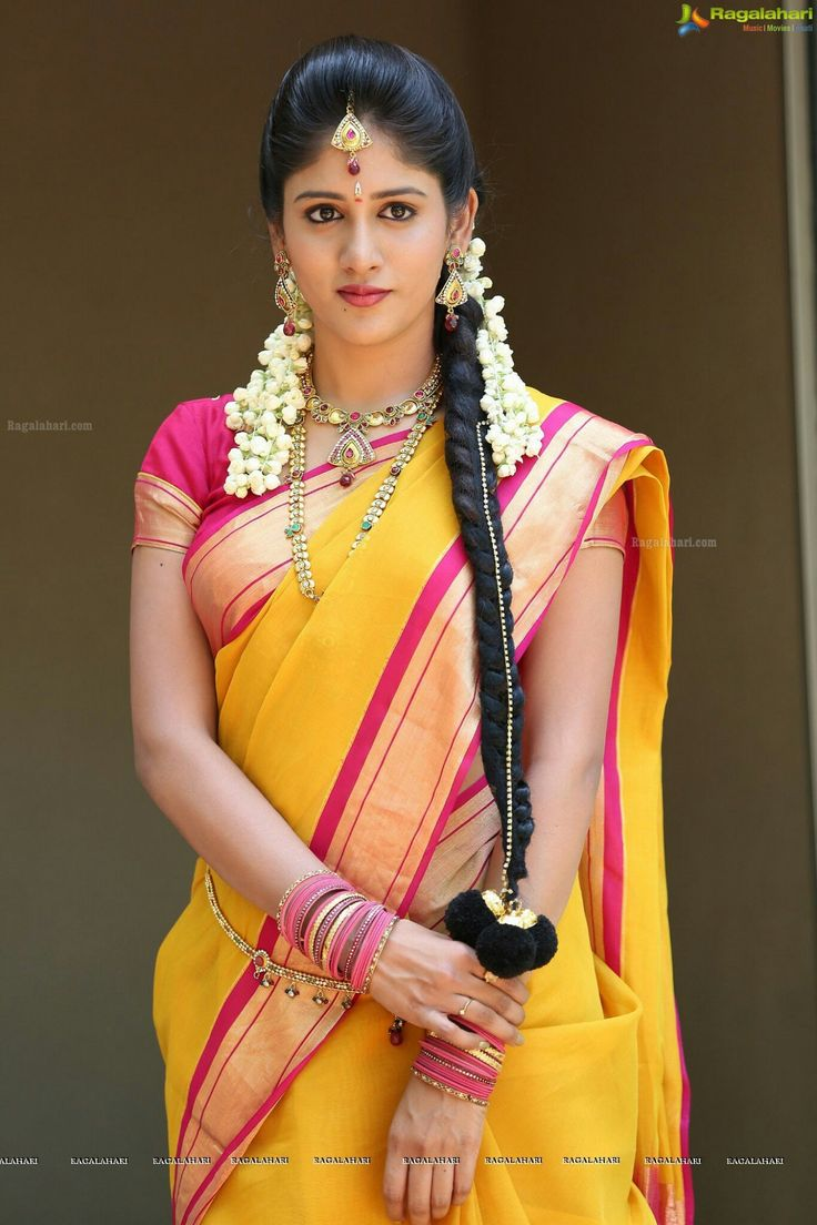 Typical and traditional South Indian bridal look