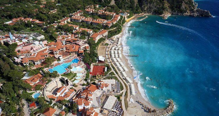 Top 10 #Oludeniz Hotels in #Fethiye Liberty World Lykia