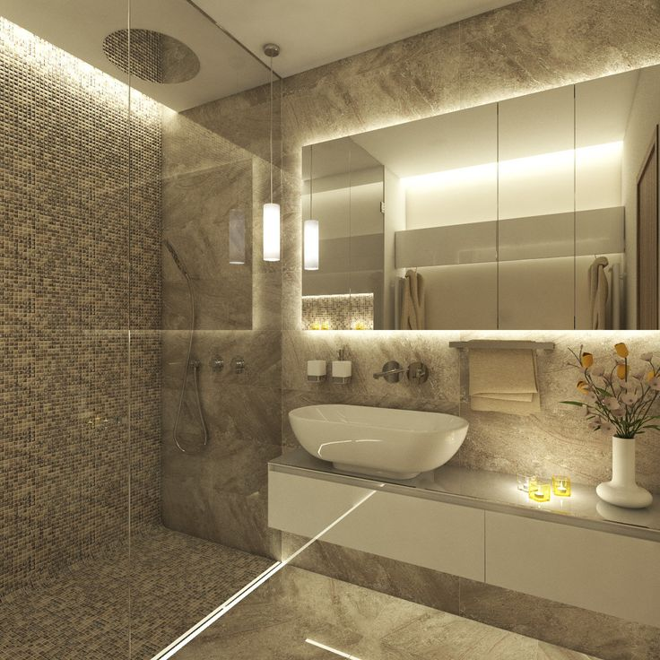 Spa-like bathroom with a custom steam shower | by CADFACE