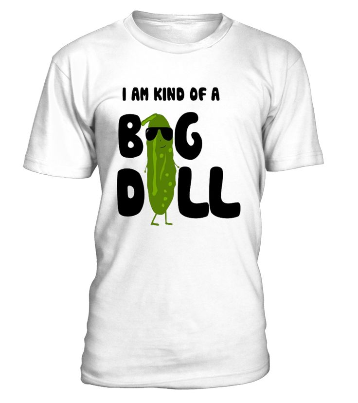 I'm Kind of a Big Dill Pickle Funny Gift Shirt   Are you kind of a big dill pickle? Get a good laugh from your family and friends with this ridiculously clever pickleball t shirt. Share a laugh and get this dill pickle ball shirt for your friends and family.   This Premium I'm Kind of a Big Dill Pickle Funny Gift Shirt is designed and printed to be fitted.            TIP: If you buy 2 or more (hint: make a gift for someone or team up) you'll save quite a lot on shipping.     To ...