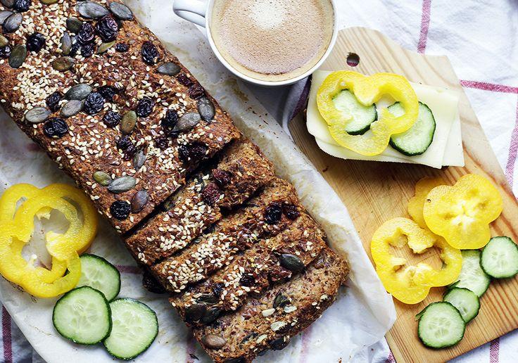 Hazelnut Bread (Grain & Gluten Free, Sweetened With Apple - Translate)
