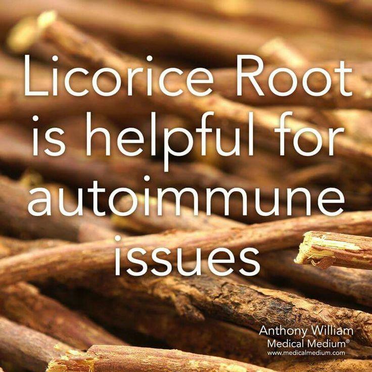 Licorice Root boosts autoimmune