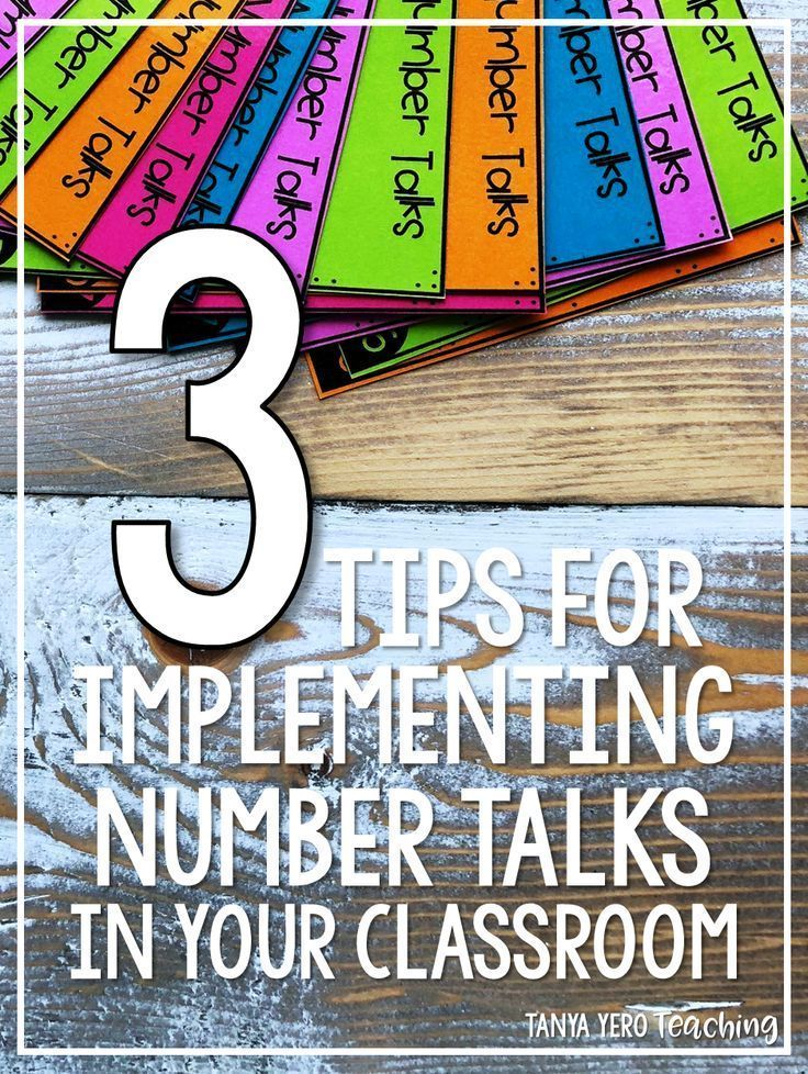 Implementing Number Talks Into Your Math Block Will Promote Number