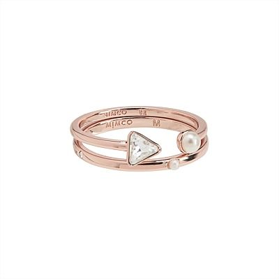 #mimco Metro Huntress Shortcircuit Ring Duo