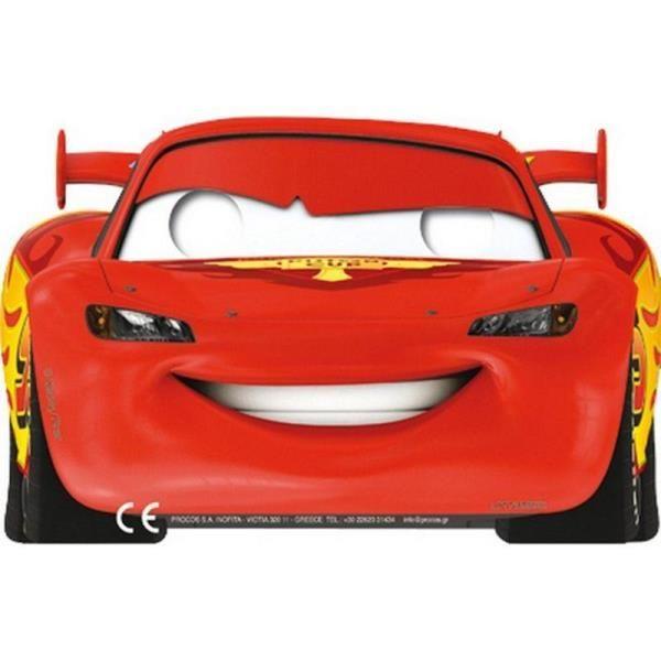 Arabalar Cars Racing Sports Parti Maskesi Karton 6 Adet Partiler Parti Gözlükleri olmadan olmaz ! Pixar Cars Mcqueen temalı doğum günü gözlüğü