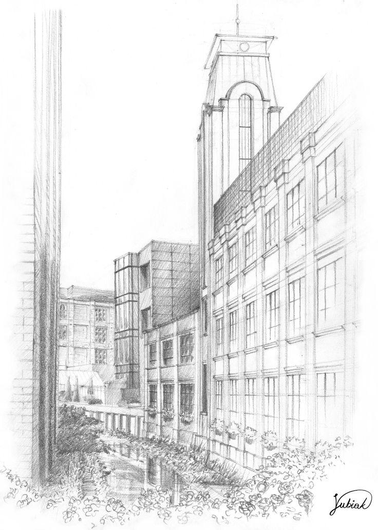 Fabryka Wełny, Pabianice. 25x35cm